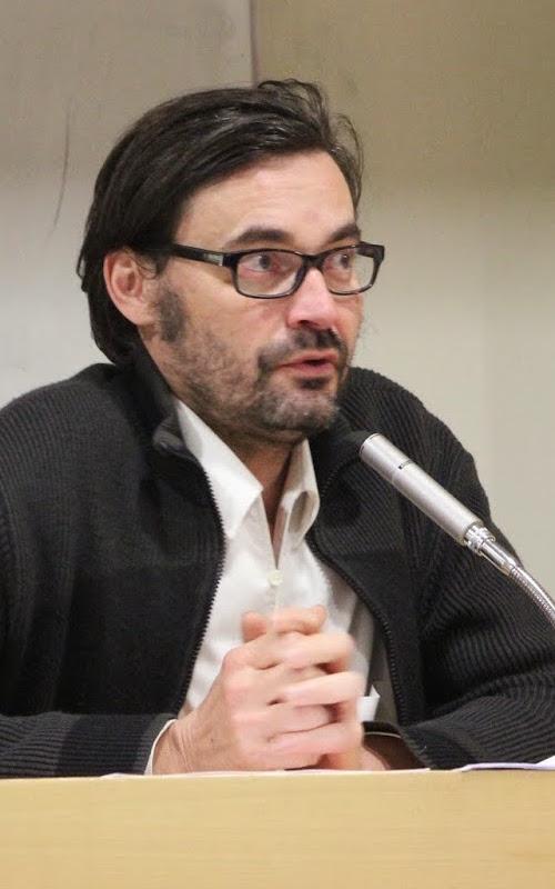 Sébastien Ledoux, historien, membre de l'Equipex MATRICE